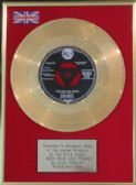 "ELVIS PRESLEY - 7"" Gold Disc - I NEED YOUR LOVE TONIGHT"